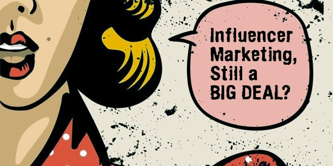 Influencer marketing - still a big deal? POP-ART style