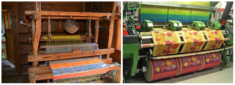 Hand Loom vs. Modern Loom